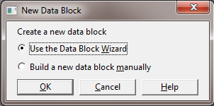 How to Create Oracle Forms by Using Wizard ? - New Data Block