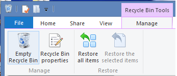 Empty Your Recycle Bin and Clear Your Desktop