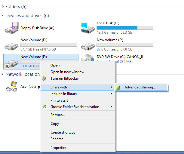How to Share Drive in Computer Network