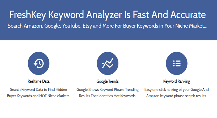 FreshKey - Premium SEM SEO and Keyword Research Tool