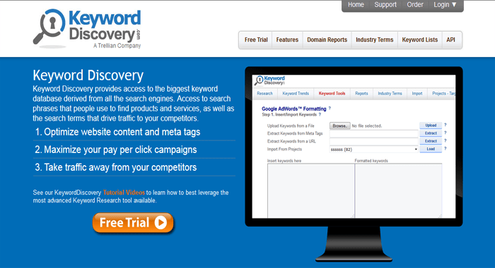 KeywordDiscovery - Premium SEM SEO and Keyword Research Tool