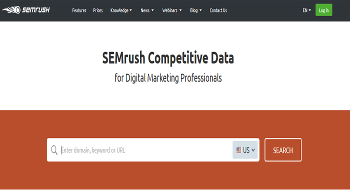 SEMrush - Premium SEM SEO and Keyword Research Tools