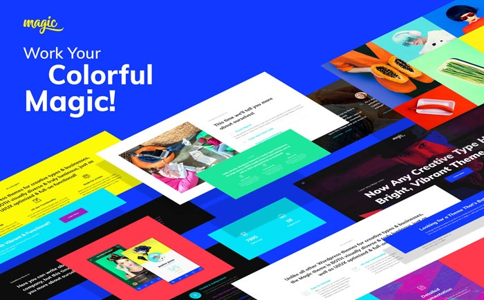 Clean and Flat Remi – Photographer Portfolio WordPress Theme