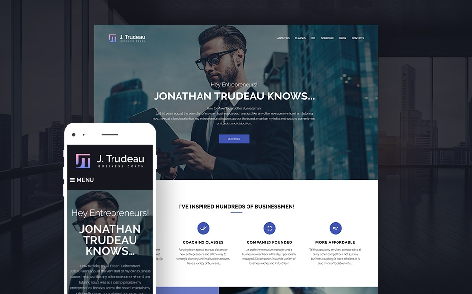 Life Coach WordPress Theme-Business Coach Modern WordPress Theme