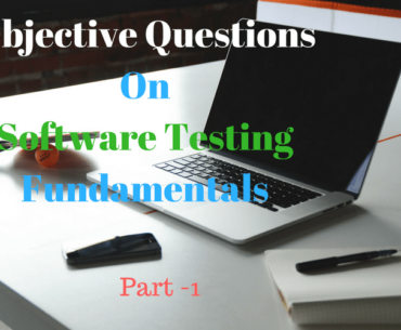 Objective Questions On Software Testing Fundamentals