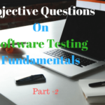 Objective Questions on Software Testing Fundamentals Part-2