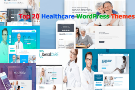 Top 20 Healthcare WordPress Themes For Multipurpose Usage
