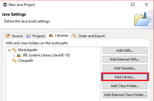 Add External Library