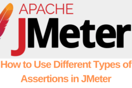 How to Use Different Types of Assertions in JMeter