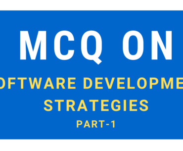 Solved MCQ On Software Development Strategies