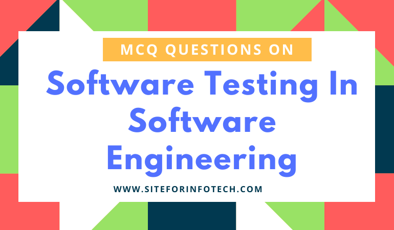 MCQ On Software Testing In Software Engineering