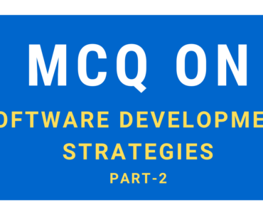 MCQ Questions On Software Development Strategies
