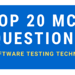 MCQ Questions On Software Testing Techniques