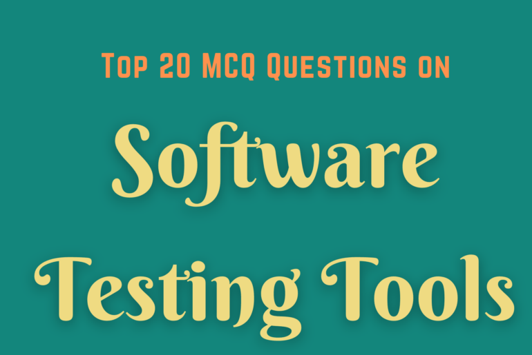 MCQ questions on Software Testing Tools