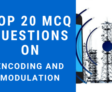 MCQ Questions on Encoding and Modulation