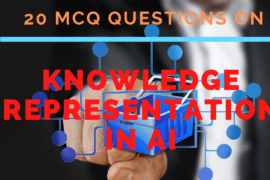 MCQ Questions on Knowledge Representation in AI