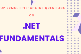 Multiple-Choice Questions on .NET Fundamentals
